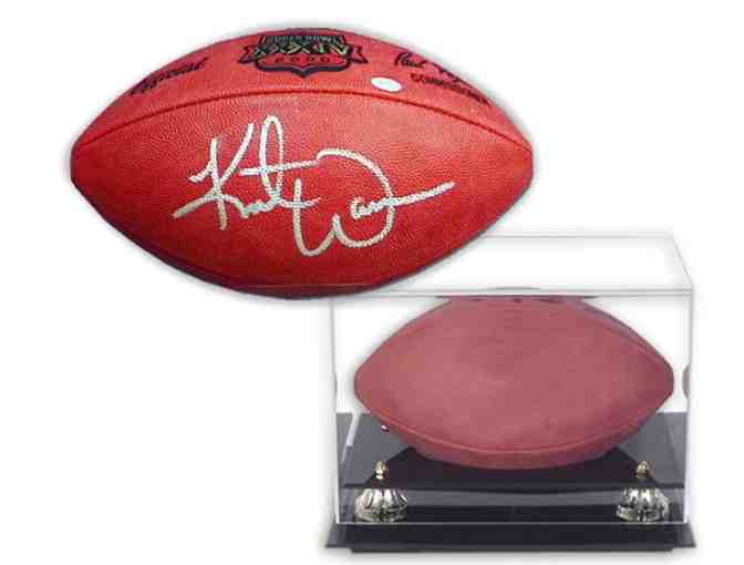 Kurt Warner Hand-Signed Official NFL Football