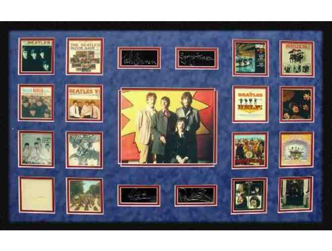 The Beatles Limited Edition Masterpiece Collage