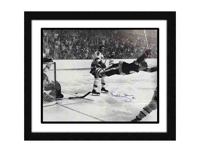 Bobby Orr Hand-Signed & Framed 'The Goal' 16x20 Photo