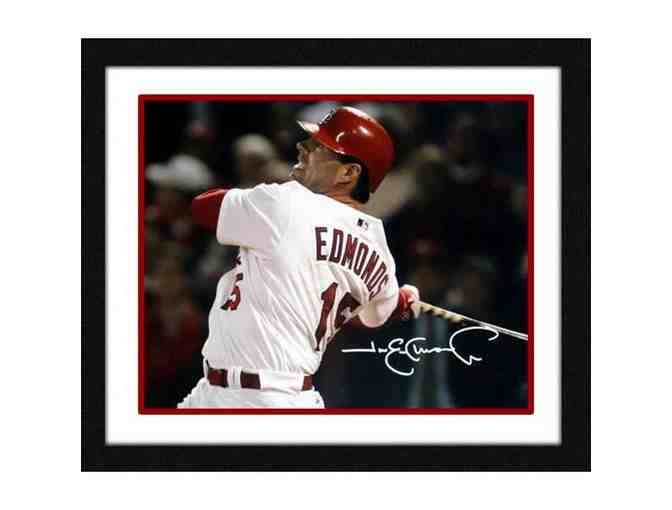 Jim Edmonds Hand-Signed & Framed 8x10 Photo