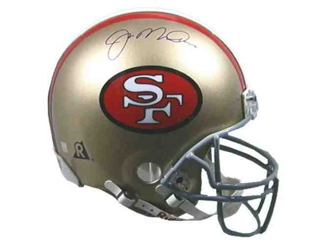 Joe Montana Hand Signed San Francisco 49ers Helmet