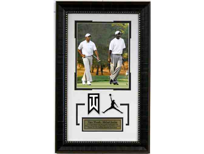 Tiger Woods and Michael Jordan 12x14 Collage