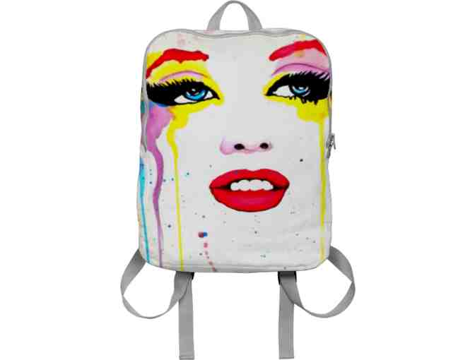 *'#109':  ART TO WEAR BACK PACK!  'TRUE COLORS' by Brandon Scott!