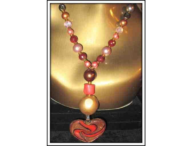 *FOR THE LOVE OF YOUR LIFE!: 1/KIND GEMSTONE NECKLACE