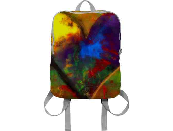 *'#17':  ART BACK PACK!  'ONE LOVE' BY WBK