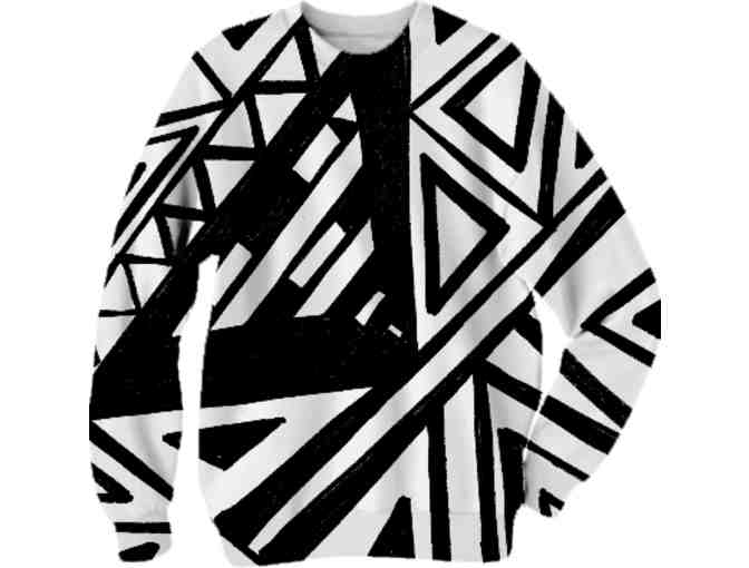 * 'ABSTRACT DIVERSION' by WBK:  UNISEX ART SWEAT SHIRT!