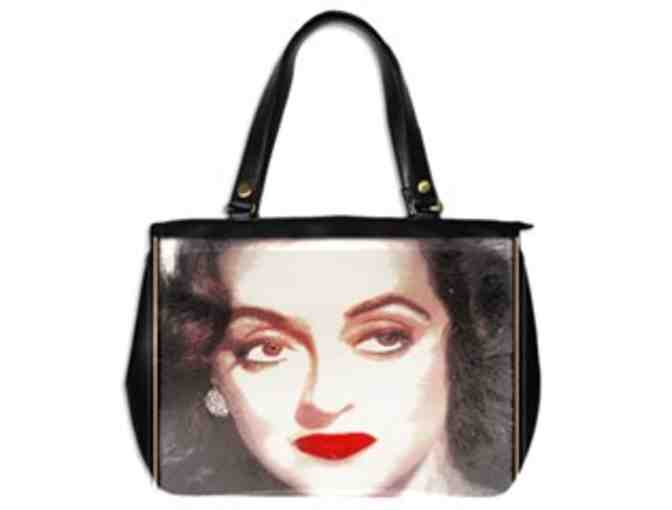 *  'BETTE': CUSTOM MADE LEATHER TOTE BAG!