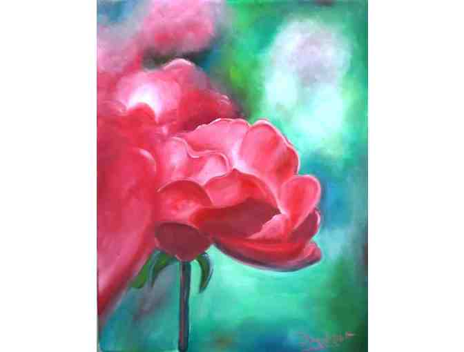 'Abstract Rose I' by Artist Derek Rutt
