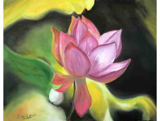 'Lotus' by Artist Derek Rutt