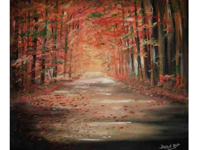 'Autumn Leaves' by Artist Derek Rutt
