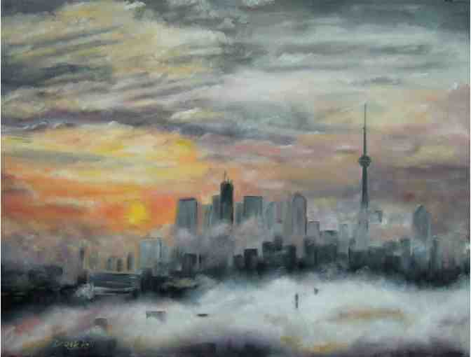 'Morning In Toronto' by Artist Derek Rutt