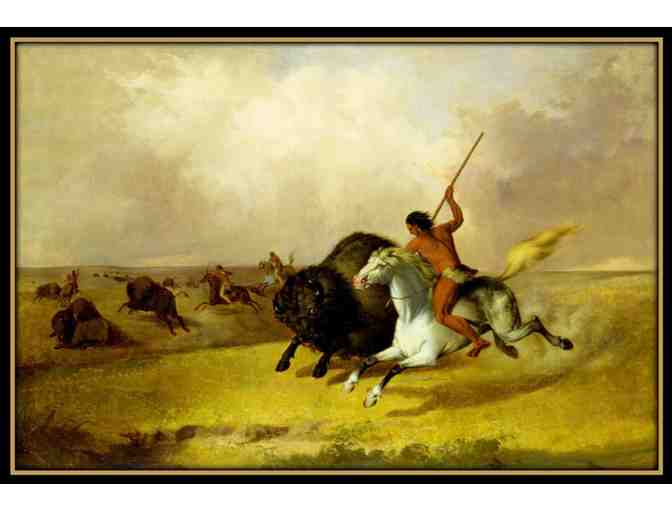 'BUFFALO HUNT' BY JOHN MIX STANLEY