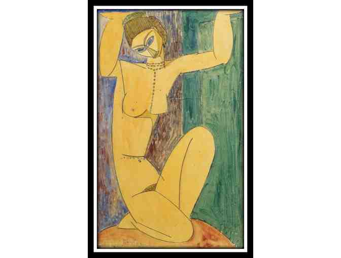 CARIATIDE BY AMADEO MODIGLIANI