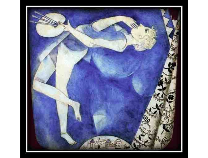 CHAGALL:  'THE PAINTER TO THE MOON'