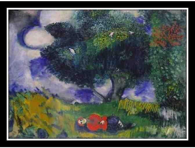 CHAGALL:  'THE POET WITH THE BIRDS'