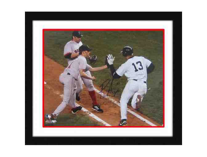 Bronson Arroyo Hand-Signed & Framed 'Slapping Rodriguez' 16x20 Photograph