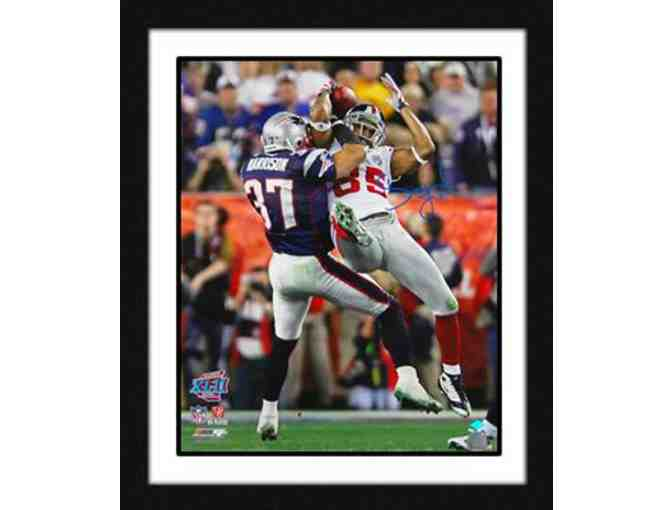David Tyree Hand-Signed ''Super Bowl Head Catch'' 16x20 Framed Photograph