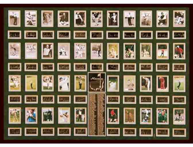 History Of The Masters: Limited Edition Champions Masterpiece Collage
