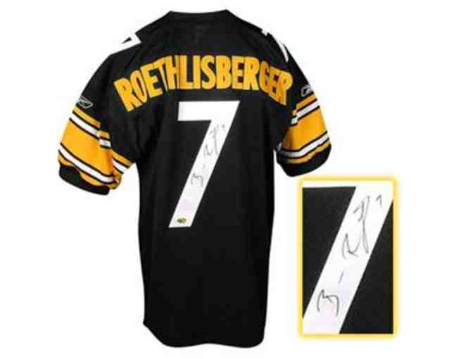Ben Roethlisberger Hand-Signed Official Pittsburgh Steelers Jersey