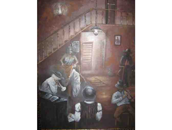 *Saloon by Theresa Gaylord:  HUGE Limited Edition Canvas!