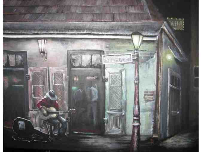 *'Lafitte's' by Theresa Gaylord:  42'x59' HUGE Limited Edition Canvas!