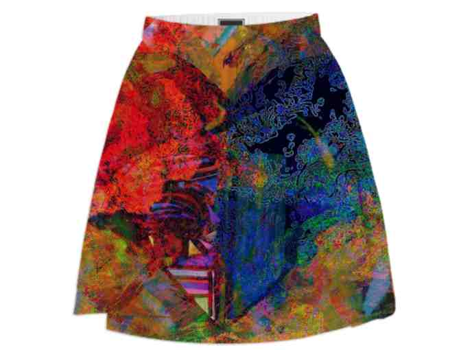 *OPPOSITES ATTRACT:  ART SKIRT!