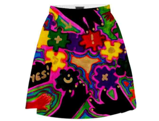 *THINK TANK:  ART SKIRT!