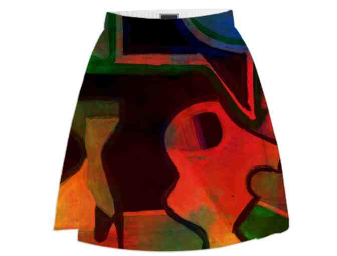 *THE CONVERSATION BY WBK:  ART SKIRT!