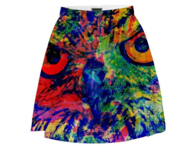 *NIGHT WATCHER BY WBK:  ART SKIRT!