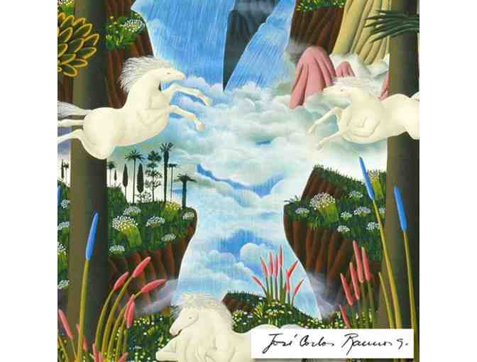 'Power in Nature' by Jose Carlos Ramos: Limited Ed. Serigraph, signed & numbered by Artist