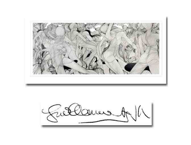 'Escale' by Guillaume Azoulay: Ltd Edition Serigraph, Signed/Numbered by Artist