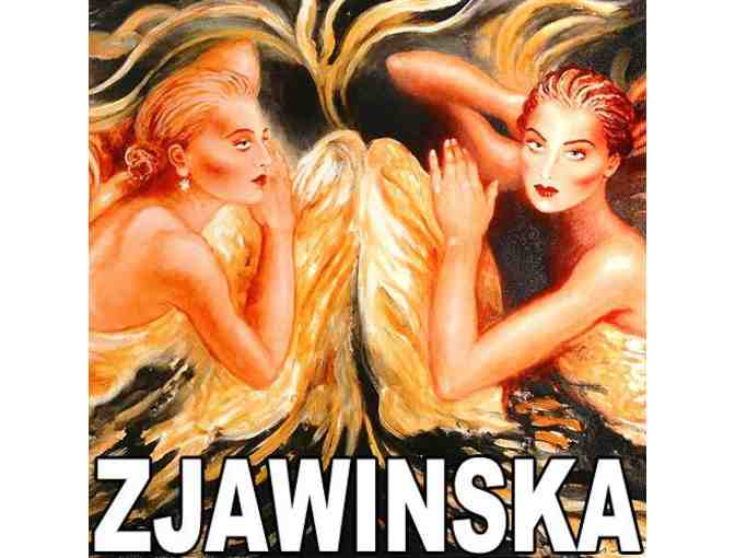 'TOUCHED BY AN ANGEL' by  Joanna Zjawinska!!':  VERY COLLECTIBLE!
