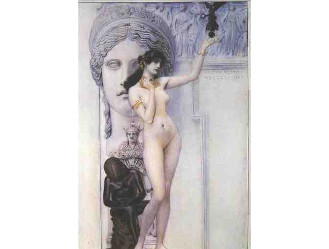 'ALLEGORY OF SCULPTURE' BY KLIMT