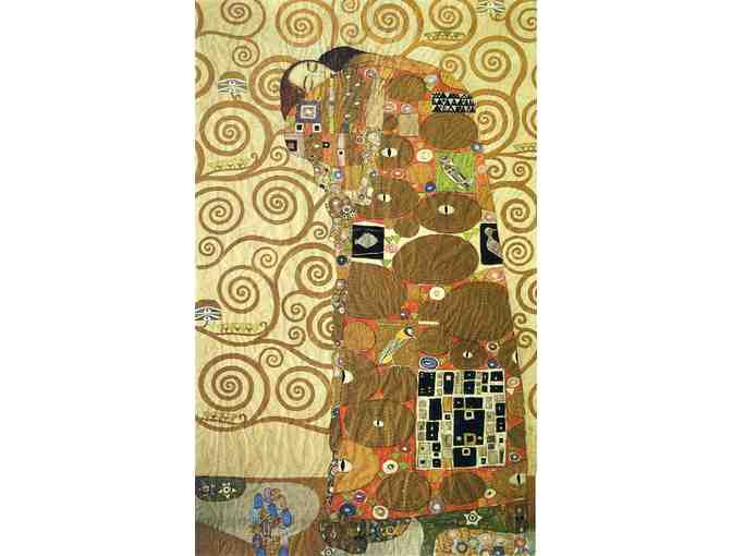'FULFILLMENT',  1909 BY GUSTAV KLIMT