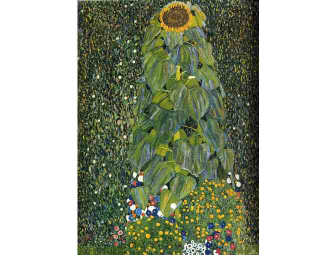 'THE SUNFLOWER' BY GUSTAV KLIMT