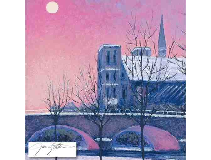 'Winter On The Seine' by James Scoppettone