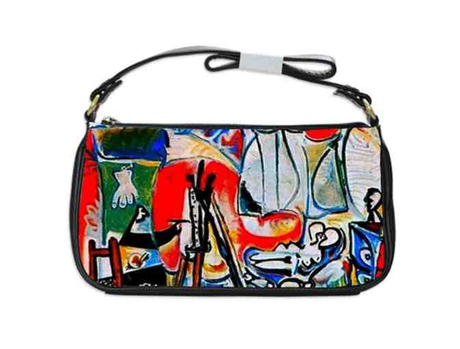 'THE PAINTER AND HIS MODEL' by PICASSO:  Custom Made Shoulder Clutch Bag