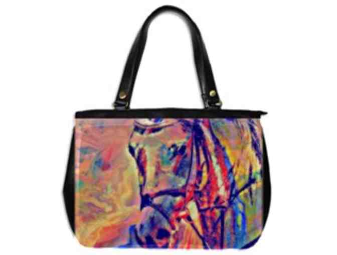 * 'YEAR OF THE HORSE' BY WBK: CUSTOM MADE LEATHER TOTE BAG!