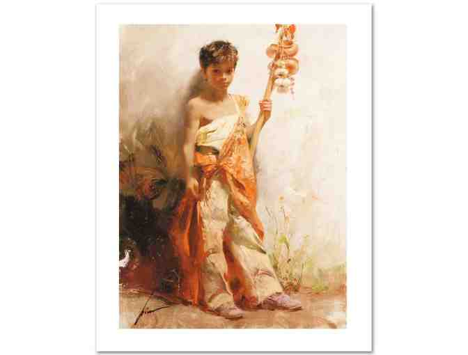 *'The Young Peddler' LTD ED Giclee by Globally Renowned 'PINO' (1939-2010)! *****