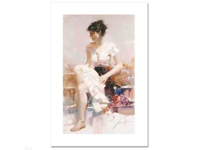 'WHITE LACE' by Globally Renowned Artist PINO!  UBER COLLECTIBLE!!!!!