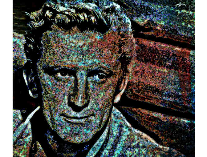 11X14' CANVAS, SPECIAL OFFER! 'KIRK DOUGLAS' BY WBK