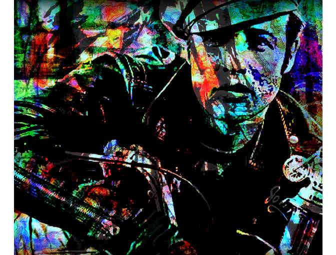 11X14' CANVAS, SPECIAL OFFER!: 'THE WILD ONE' BY WBK