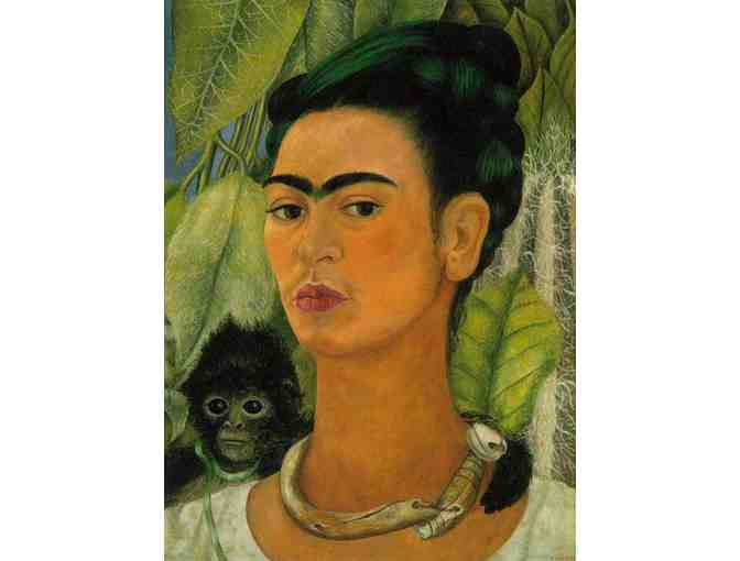'SELF PORTRAIT WITH A MONKEY' BY FRIDA KAHLO