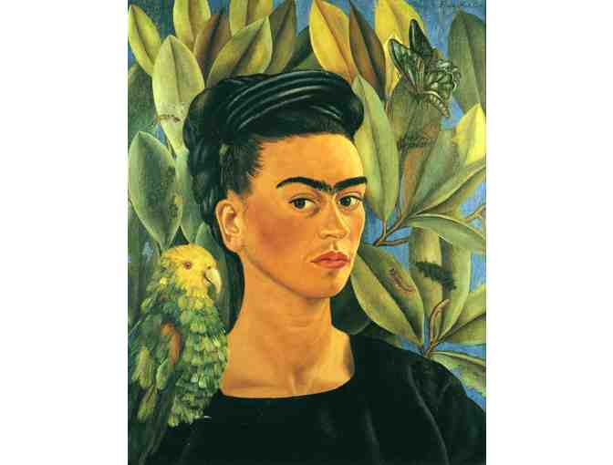 'SELF PORTRAIT WITH BONITO' BY FRIDA KAHLO