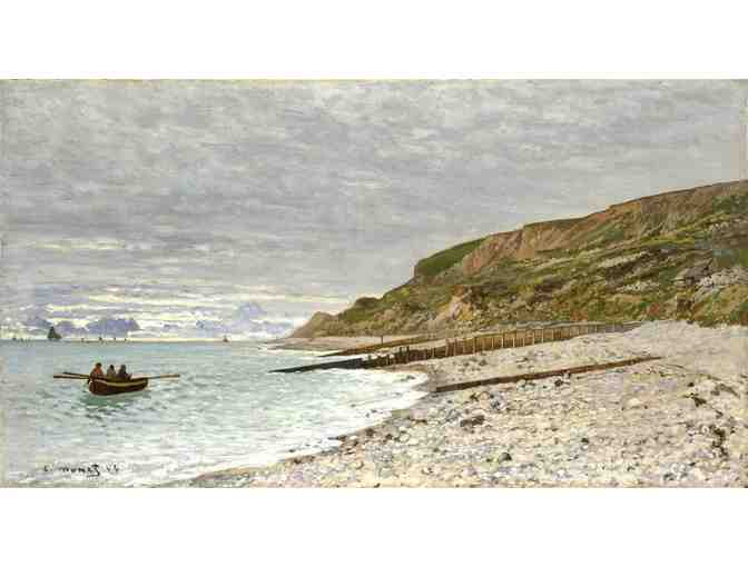 'THE POINTE AT HEVE' BY MONET