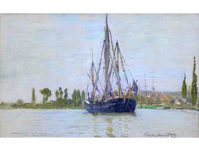 'THE SAILING BOAT' BY MONET