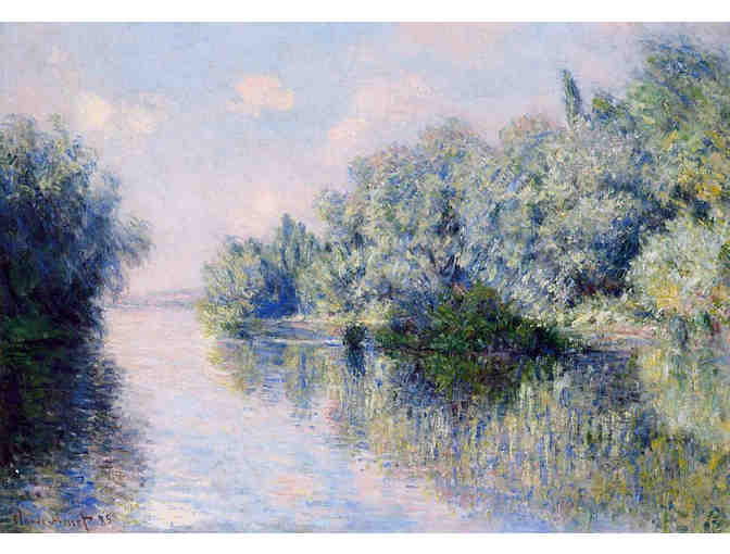'THE SEINE NEAR GIVERNY' BY MONET