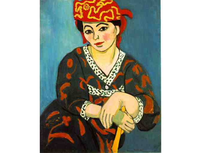 'The Red Madras' by Matisse