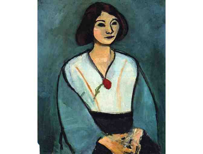 'Woman In Green w/Carnation' by Matisse
