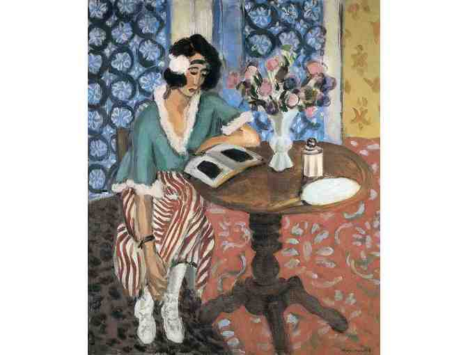'Woman Reading' by Matisse